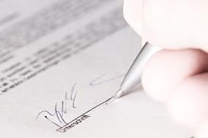 Gestaltung von Verträgen